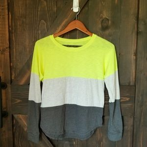 Girl's Justice Color Block Top